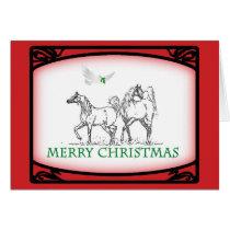 Arabian Horse Christmas Card