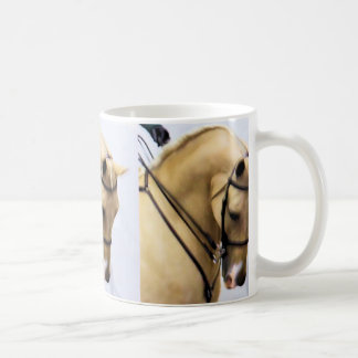 Arabian Horse coffee cup in color