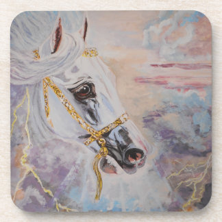 Arabian Horse Cork Coaster