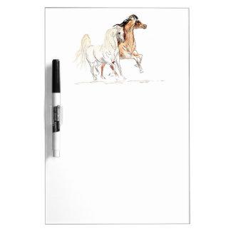 Arabian Horse Dry Erase Board