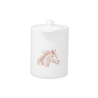 ARABIAN HORSE HEAD