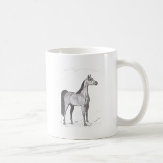 Arabian Horse in Pencil Mug