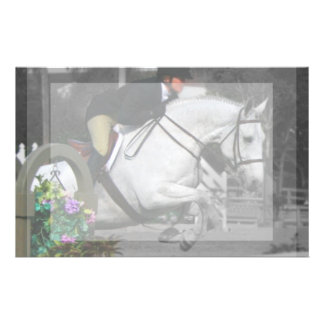Arabian Horse Jumping Stationery