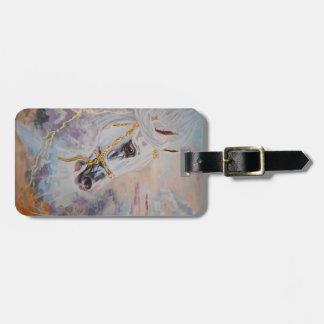 Arabian Horse Luggage Tag