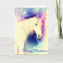 Arabian Horse Magic Christmas Card