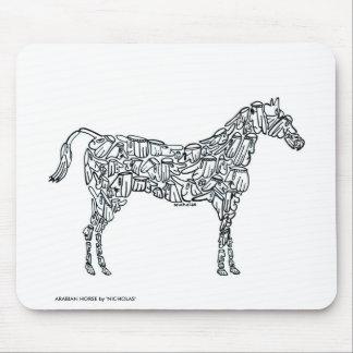 ARABIAN HORSE MOUSE PAD