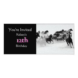 Arabian Horse Party Invitation