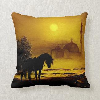 Arabian Horse Pillow
