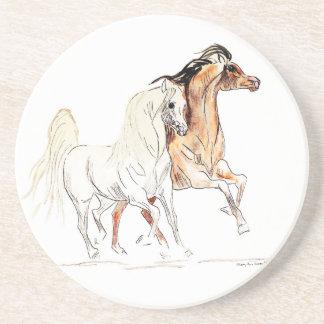 Arabian Horse Sandstone Coaster