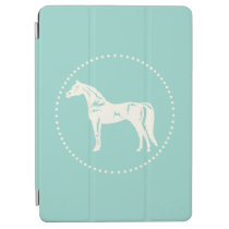 Arabian Horse Silhouette iPad Air Cover
