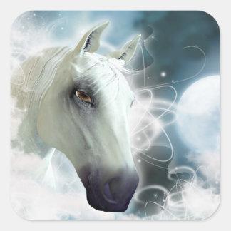 Arabian Horse Square Sticker