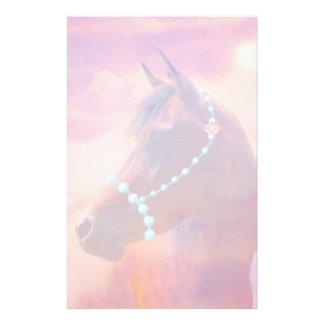 Arabian Horse Sunrise Stationary Stationery