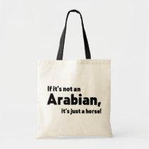Arabian horse tote bag