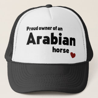Arabian horse trucker hat