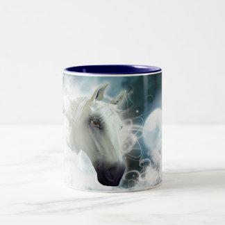Arabian Horse Two-Tone Coffee Mug