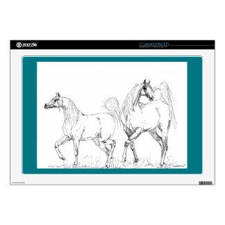 "Arabian Horse Vinyl Device Protection Skin 17"" Laptop Skin"