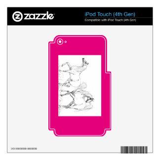 Arabian Horse Vinyl Device Protection Skin iPod Touch 4G Skin