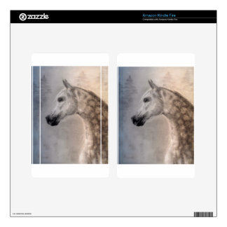 Arabian Horse Vinyl Device Protection Skin Kindle Fire Decals