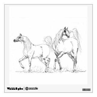 Arabian Horse Wall Decal
