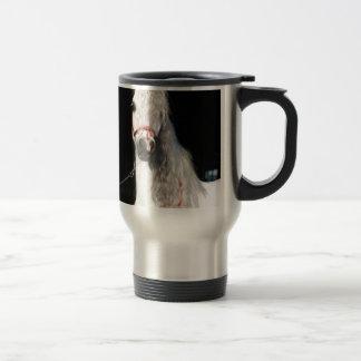 Arabian Horse White Travel Mug