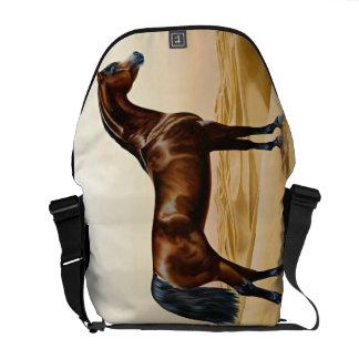 Arabian Horse - William Barraud Messenger Bag