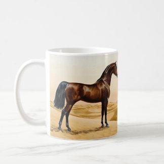 Arabian Horse - William Barraud Classic White Coffee Mug