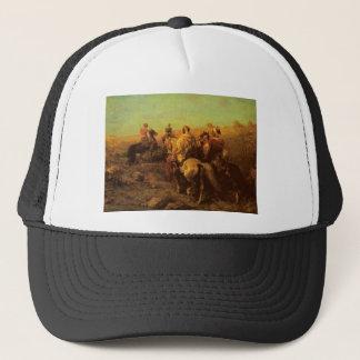 Arabian Horsemen Near A Watering Place Trucker Hat