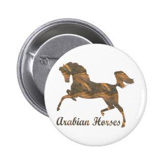 Arabian Horses Pins