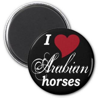 Arabian horses magnet