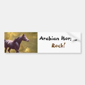 Arabian Horses Rock, Bumper Sticker
