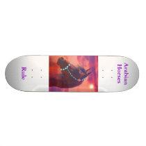 Arabian Horses Rule Skateboard Deck