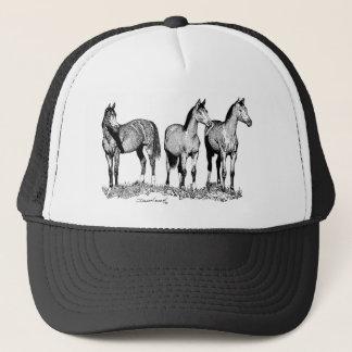 Arabian Horses Trucker Hat