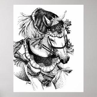 Arabian in Costume Poster