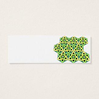Arabian Knot Mini Business Card