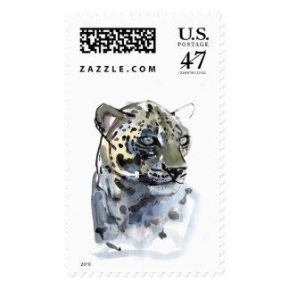 Arabian Leopard 2008  4 Postage