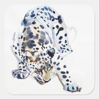 Arabian Leopard 2008  5 Square Sticker