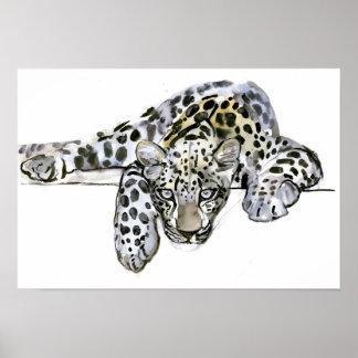 Arabian Leopard 2008  6 Poster