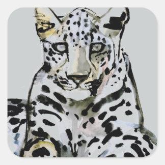 Arabian Leopard 2008  7 Square Sticker