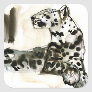 Arabian Leopard 2008 Square Sticker