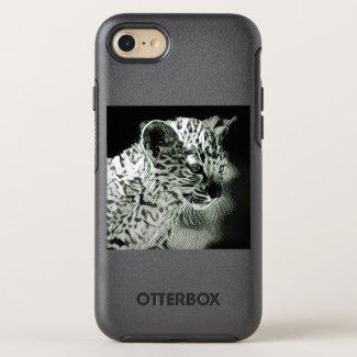 Arabian Leopard Cub iPhone 8/7 Otterbox Case