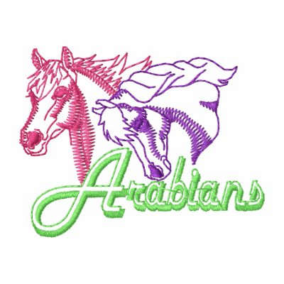 Arabian Logo Outline Embroidered Hoody