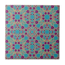 Arabian Moroccan Pattern Ceramic Tile