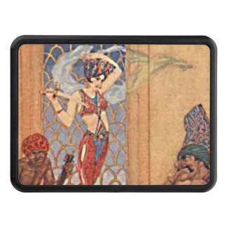 Arabian Nights Belly Dancing Girl with Scarves Hitch Covers