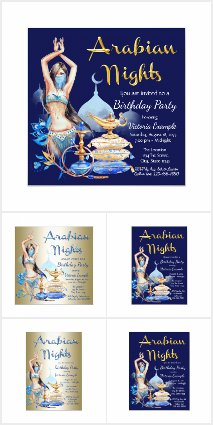 Arabian Nights Birthday Party
