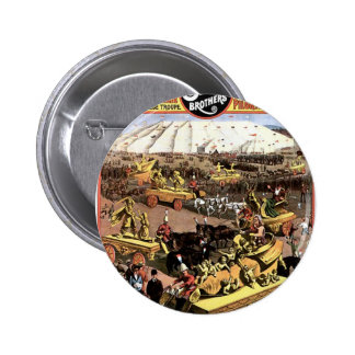 Arabian Nights' Entertainment And Spectacular Pinback Buttons