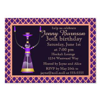 Arabian Nights Hookah Party Invitation