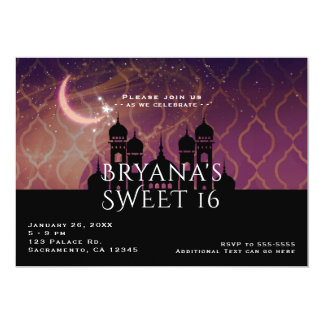 Arabian Nights Moroccan Middle Eastern Invitations