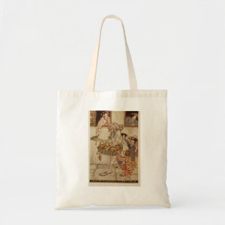 Arabian Nights New Lamps for Old Illustration Tote Bag