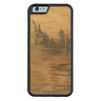 arabian nights painting orient arabic story tale carved maple iPhone 6 bumper case