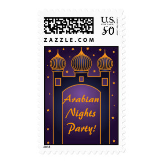 Arabian Nights Party Postage Stamps 3